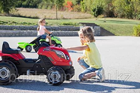 Детский педальный трактор Smoby Farmer XL 710108 с прицепом - фото 4