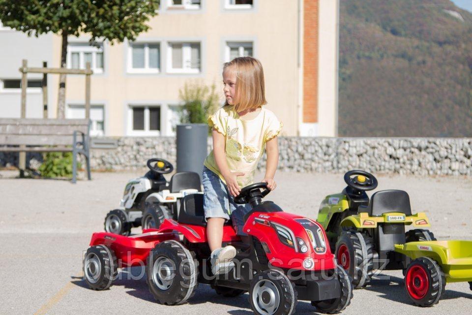 Детский педальный трактор Smoby Farmer XL 710108 с прицепом - фото 3
