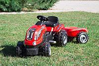 Детский педальный трактор Smoby Farmer XL 710108 с прицепом