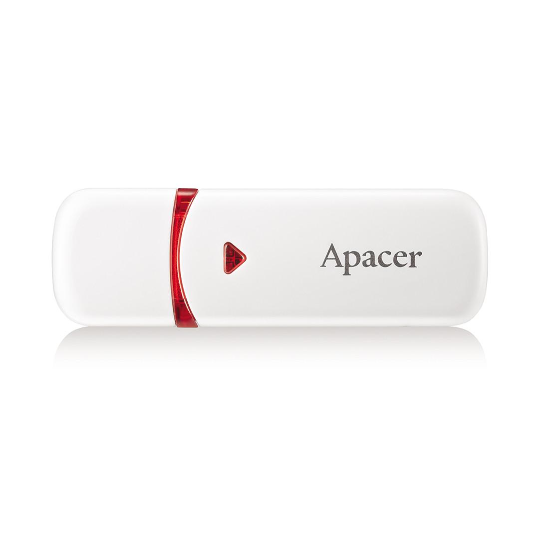 USB-накопитель  Apacer  AH333  AP64GAH333W-1  64GB  USB 2.0  Белый