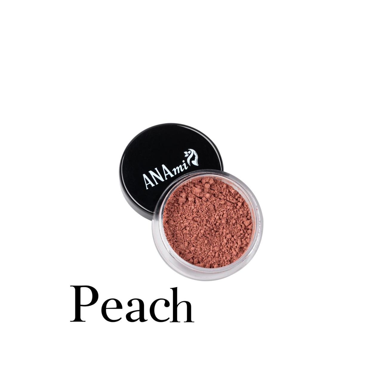 Минеральный румяна ANAmi. Матовые Peach