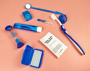 Ортодонтический набор Azdent для брекетов синий
