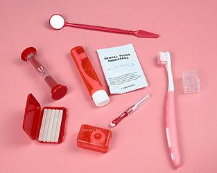 Ортодонтический набор Azdent для брекетов красный
