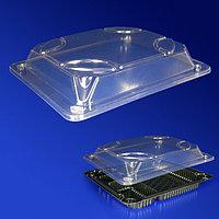 Kazakhstan Крышка к контейнеру для суши 15х13х2см внутр PET прозрачная 225 шт/кор ИП-409К ПЭТ
