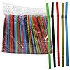 Kazakhstan Трубочка d0,8x26см разноцветная 500шт/уп с гофрой