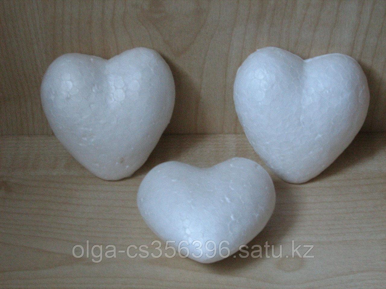 Сердце из пенопласта.  100 мм. Creativ  23
