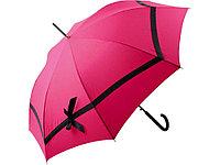 Зонт-трость Ferre, розовый/черный