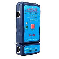 Кабельный тестер LAN/USB для RJ-45, RJ-11, USB-A USB-B SY-168