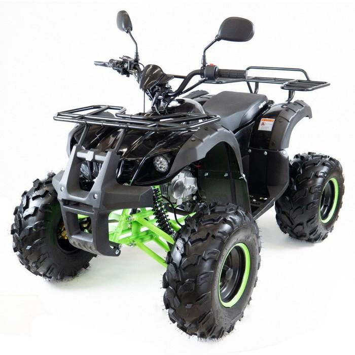 Квадроцикл бензиновый MOTAX ATV Grizlik-7, черно-зеленый, электростартер, родительский контроль