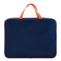 Папка с ручками, текстильная, А4, 350 х 265 х 45 мм, 'Оникс', ПМД 2-42, внутренний карман, 'Офис', цвет