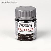 Краситель немигрирующий PRO Color, чёрный, 40 г