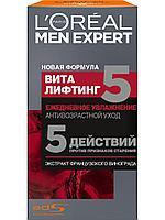 L'Oreal Paris Антивозрастной уход Men Expert Виталифтинг 5 Ежедневное увлажнение, 50 мл