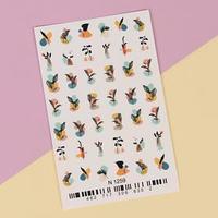 Слайдер-дизайн для ногтей 'Beauty'
