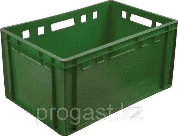 Тара Е3 сплошной зеленый 600*400*300, фото 2