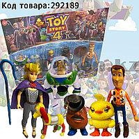 Набор фигурок игрушечных полноразмерных История игрушек 4 персонажи со съемными аксессуарами