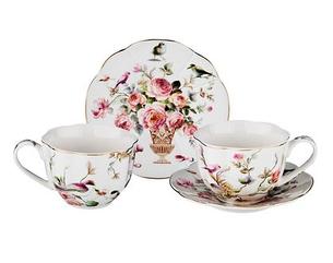 """Чайный набор на 2 персоны, 4 пр., """"нега"""", 250 мл."""