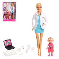 Кукла Детский доктор с малышкой