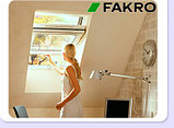 Пластиковое белое мансардное окно 78х118 PTP U3 FAKRO в комплекте с окладом для металлочерепицы, фото 9