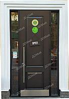 Двери металлические со стеклом
