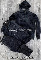 Велюровый зимний костюм мужской ЕА7 (emporio armani)