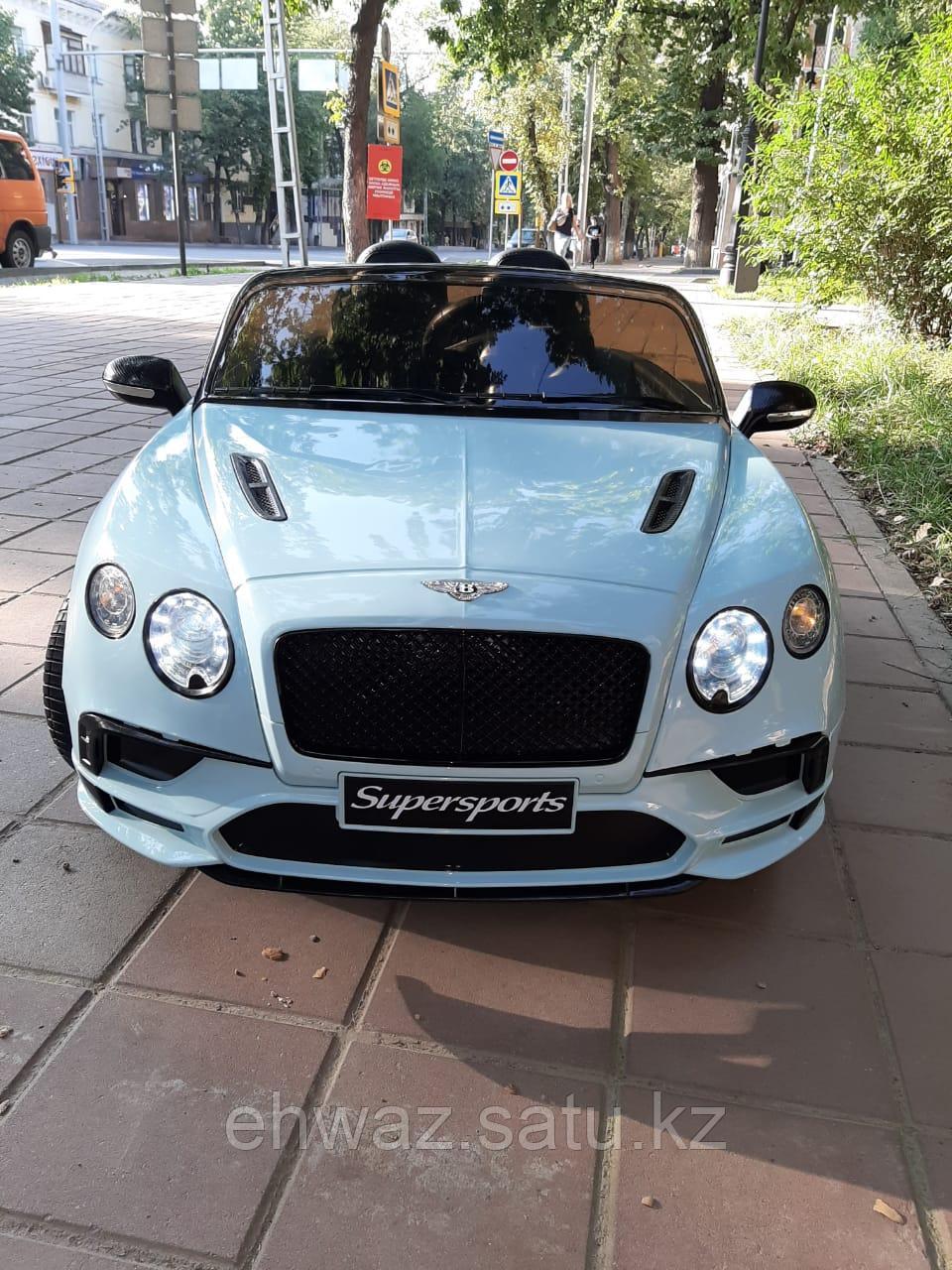 Детский двухместный электромобиль Bentley Continental Supersports