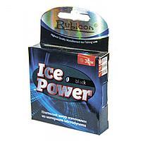 Леска плетеная Ice Power 30m black, d=0,20mm (467030BL-020) tr-214261