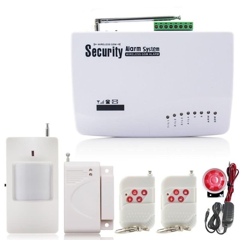 Сигнализация GSM Security Alarm System - фото 1