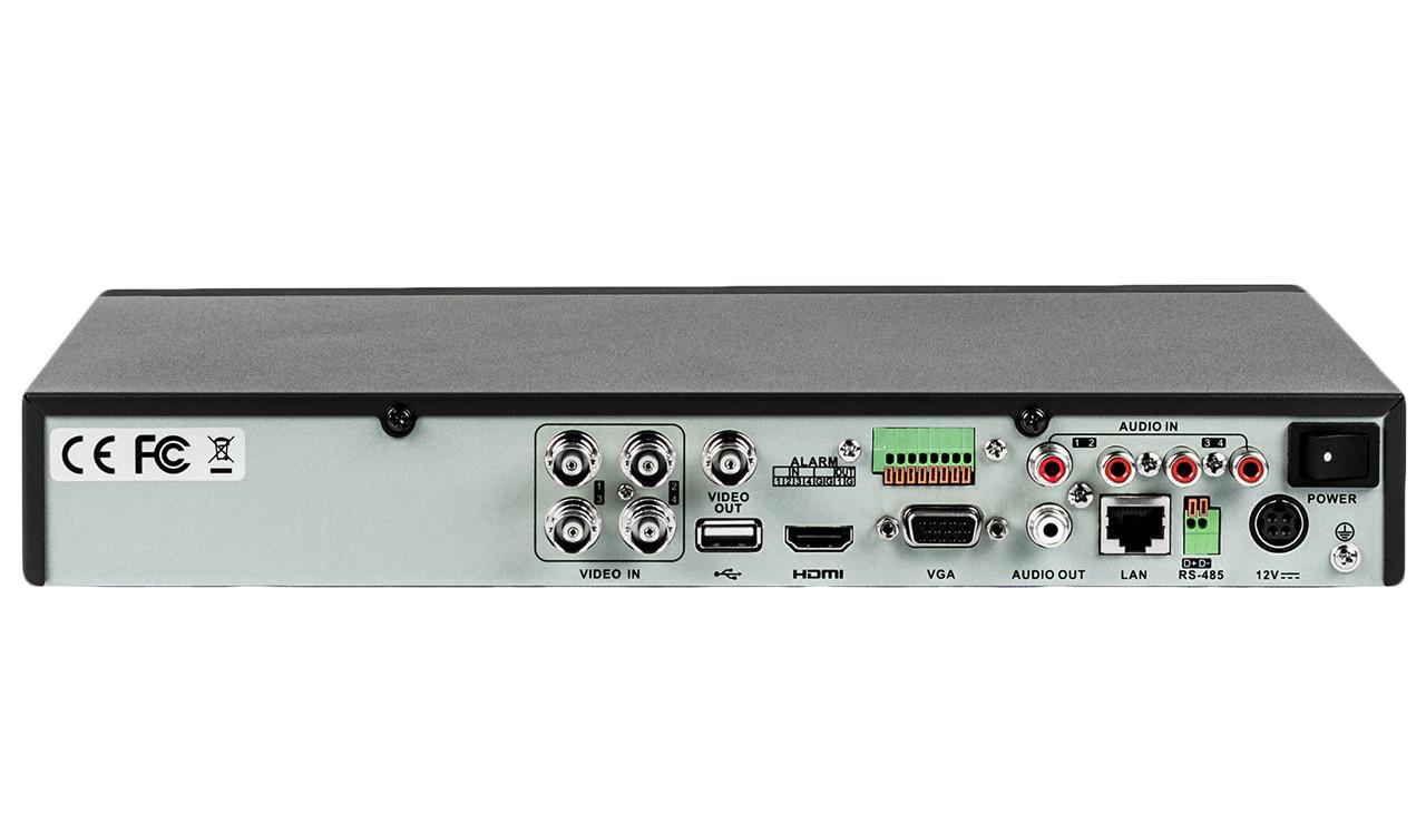 Гибридный видеорегистратор SY-2804 DVR TVI AHD CVI XVR четырех канальный - фото 2