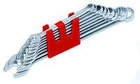 Длинный набор из 17 комбинированных ключей 6-22 mm IZELTAS