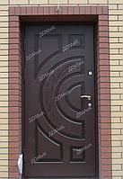 Двери стальные облагороженные