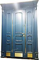 Двери входные стальные облагороженные