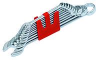 Короткий набор из 8 комбинированных ключей 6-19 mm IZELTAS