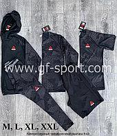 Рашгард (компрессионное белье)  Reebok 5в1, черный комбинированный