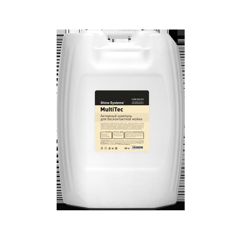 MultiTec – активный шампунь для бесконтактной мойки (канистра 60 л)