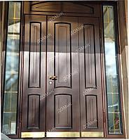 Двери входная облагороженная нестандартная