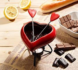 Набор для приготовления шоколадного фондю gipfel  1909 minor 5пр
