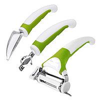 Набор кухонных ножей Triple Slicer (Трипл Слайсер) 3 шт.
