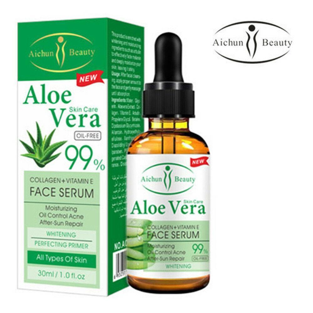 Сыворотка для лица Aichun Beauty  Collagen+Vitamin E Face Serum Aloe Vera 99%  30 ml.
