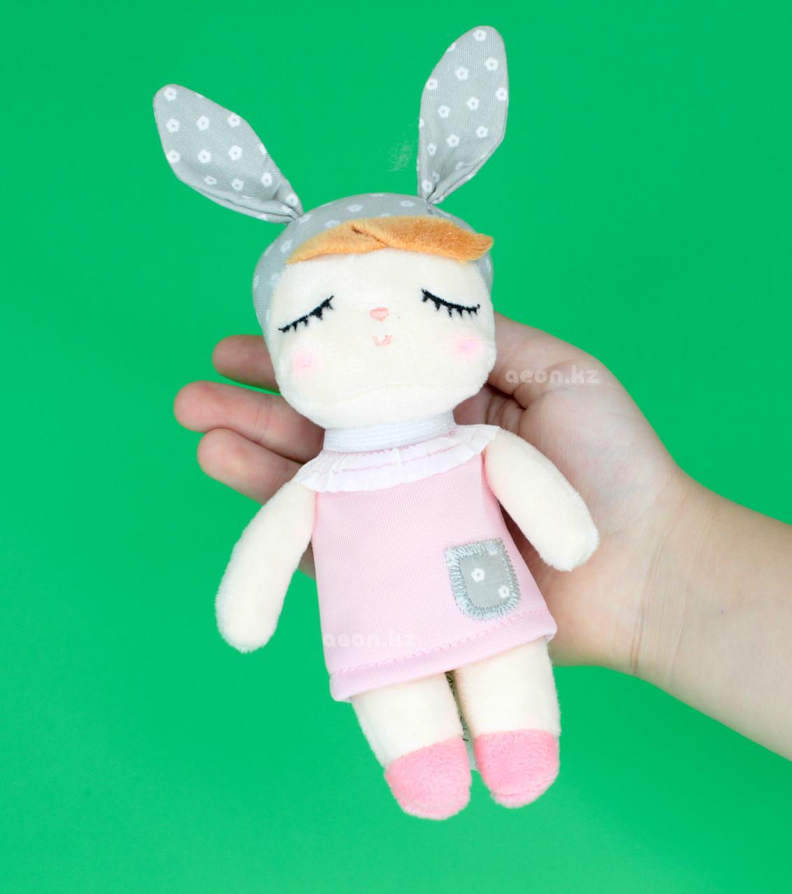 "Кукла-сплюшка мини ""Платье розовое"""