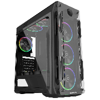 Корпус ПК без БП GameMax Optical (G510) Black, фото 1