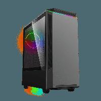 Корпус ПК без БП GameMax Paladin T801 (Midi-Tower, window, tempered glass, RGB), фото 1