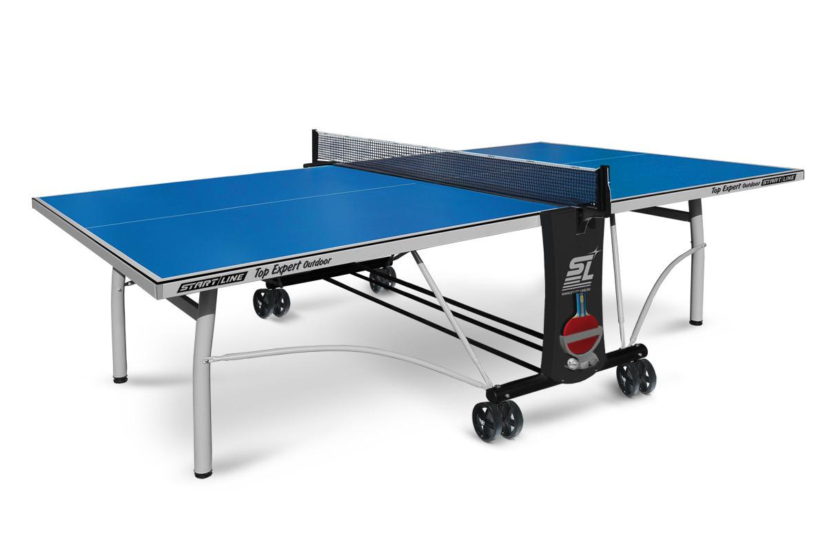 Теннисный стол Top Expert Outdoor - всепогодный топовый теннисный стол.