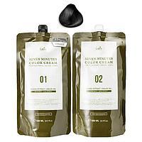 Lador Seven Perfect Cover Up (Black) 500ml - семиминутная краска для волос с натуральным составом