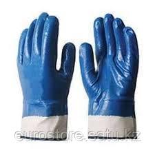 Перчатки хб с полным нитриловым покрытием