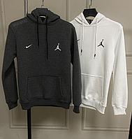 Худи толстовка Nike Jordan тем сер 07049, фото 1