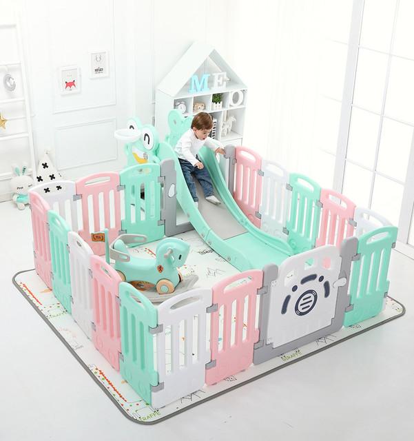 Игровое ограждение для детской комнаты