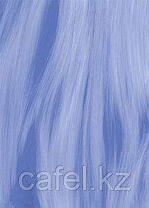 Кафель | Плитка настенная 25х35 Агата | Agata голубой вниз