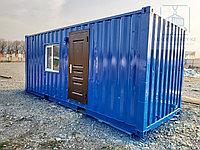 Жилой контейнер 20 футовый под прорабскую, фото 1