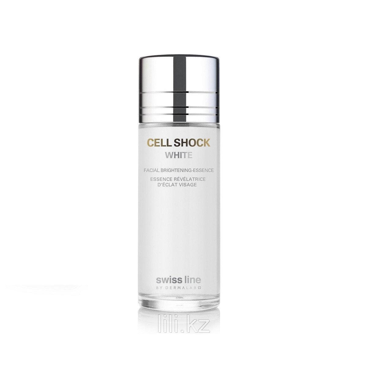 Отбеливающая, осветляющая эссенция- Cell Shock White Facial Brightening – Essence 150 мл.