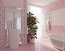 Кафель | Плитка настенная 25х35 Агата | Agata розовый декор D1, фото 2
